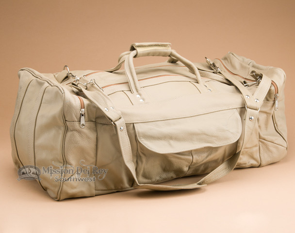 Handcrafted Cowhide Travel Bag