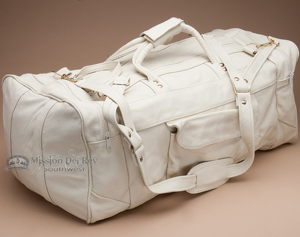 Genuine Cowhide Duffle Travel Bag