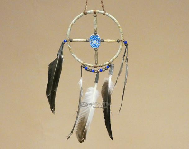 """Native American Navajo Medicine Wheel 4"""" (mw4-3)"""