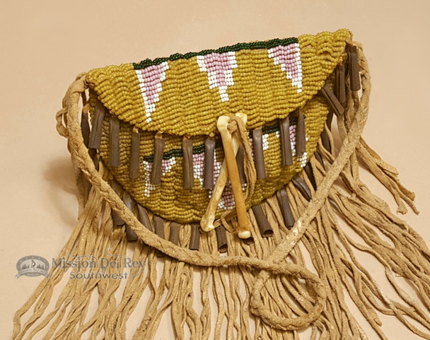 Sioux Indian Vintage Beaded Medicine Bag