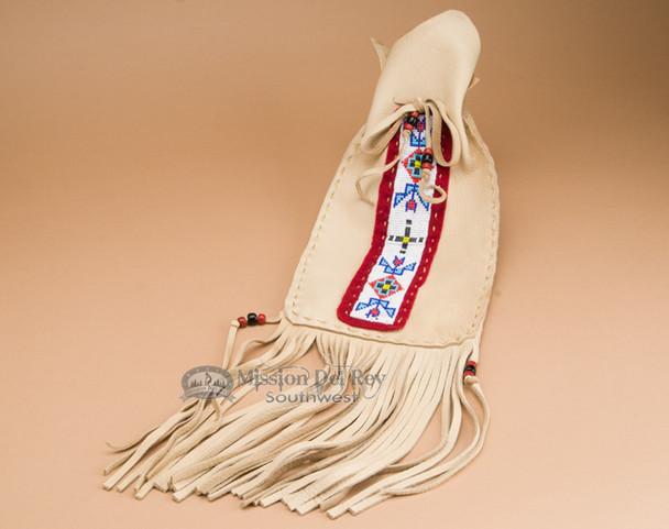 """Pueblo Indian Medicine Bag 15"""" -Tigua"""
