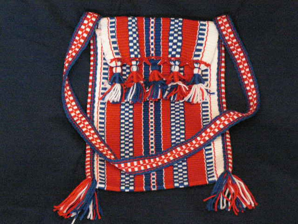 Tarahumara Indian Yarn Doll Bag