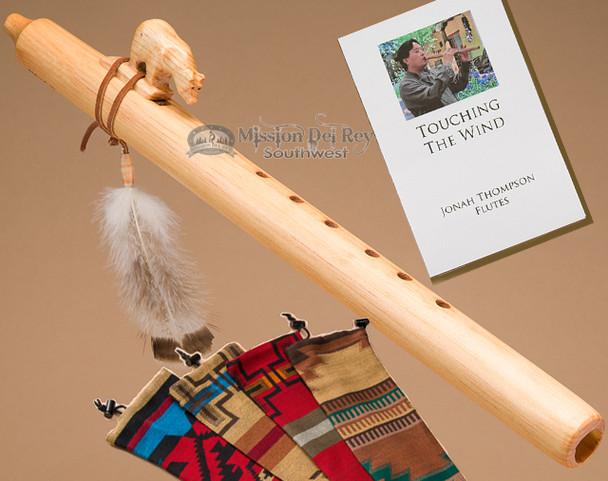 Native American Flute Natural Bear