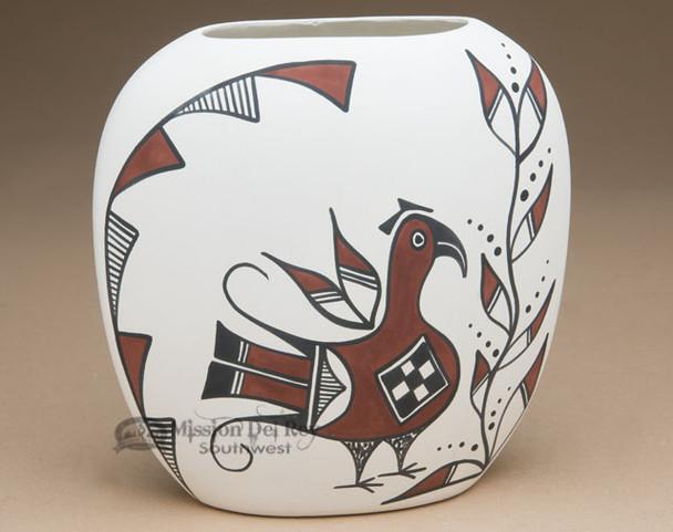 Native American Pueblo Indian Pottery Pillow Vase