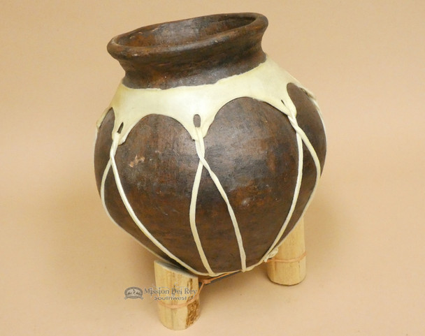 Native Tarahumara Indian Pottery Vase