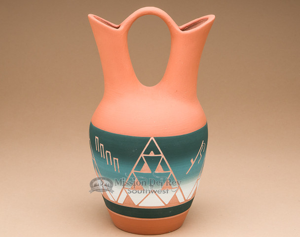 Native American Pottery Wedding Vase -Sioux