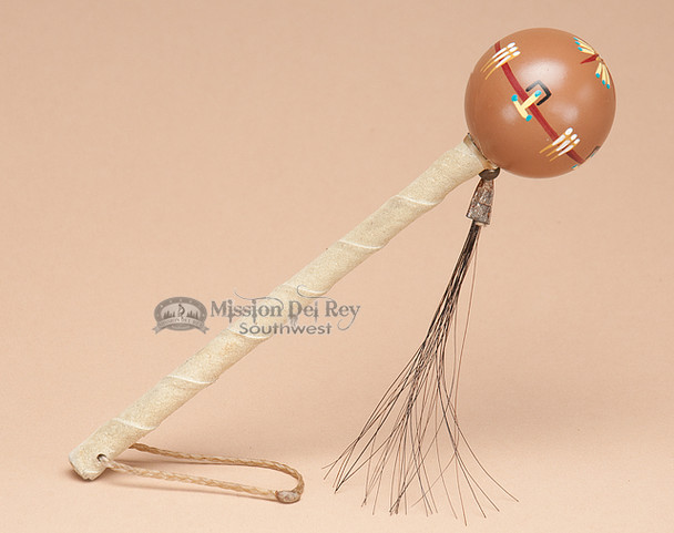 Tan Navajo Ball Rattle