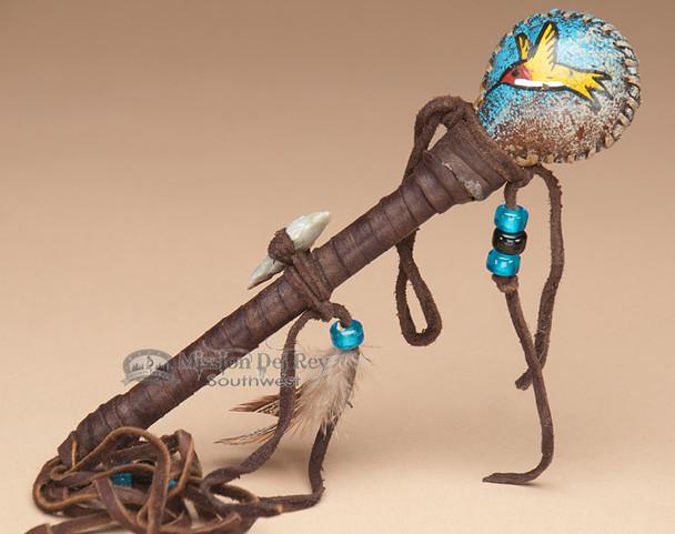 Navajo Painted Rattle - Humming Bird
