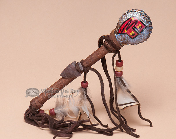 Native American Painted Rattle - Bear