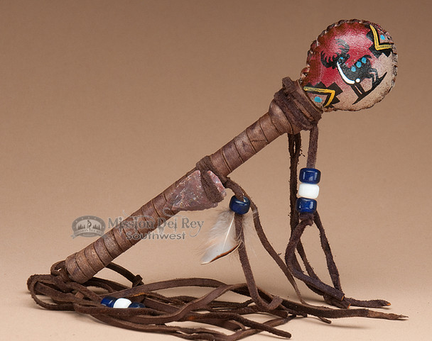 Painted Indian Rattle - Deer