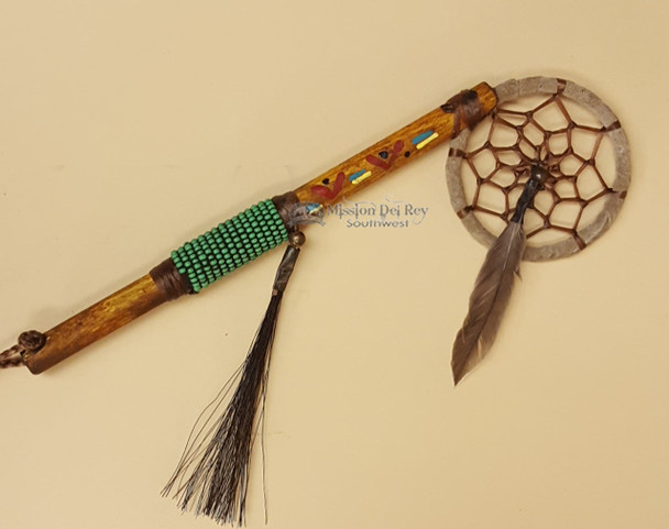 Native American Spirit Stick - Green