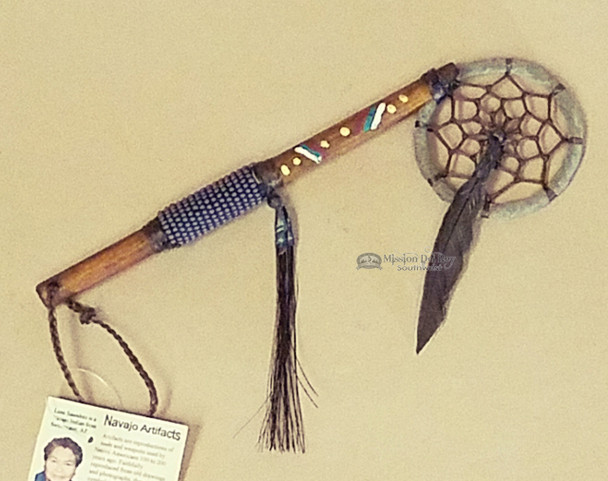 Navajo Indian Beaded Spirit Stick Dreamcatcher
