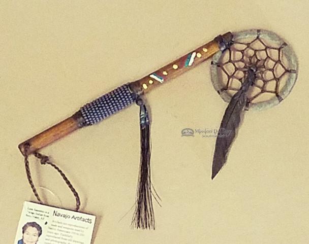 Navajo Indian Beaded Spirit Stick Dreamcatcher