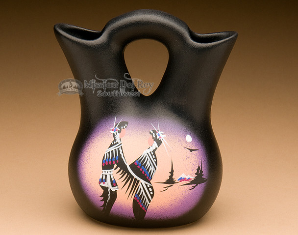 "Native American Navajo Wedding Vase 5.5"" -Natives (87)"