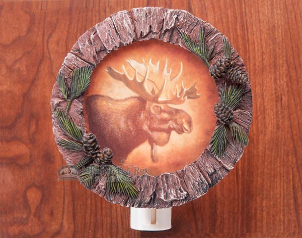Rustic Southwestern Night Light -Moose (6)