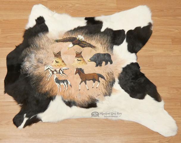 Western Painted Hide - Cave Art Drawings