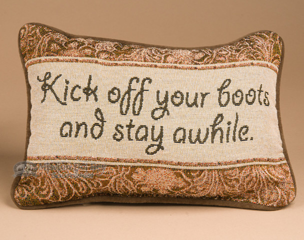 Western style decorative pillow.