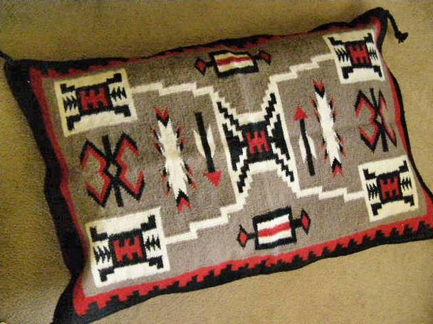 Large Southwest Pillow Cover 24x36 -Storm