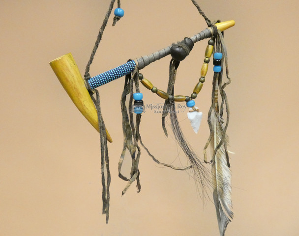 Navajo Beaded Peace Pipe