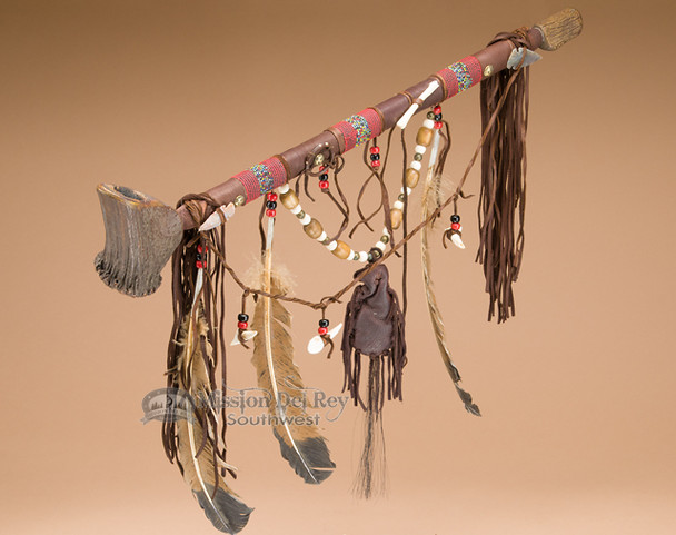Navajo Indian Antler Peace Pipe