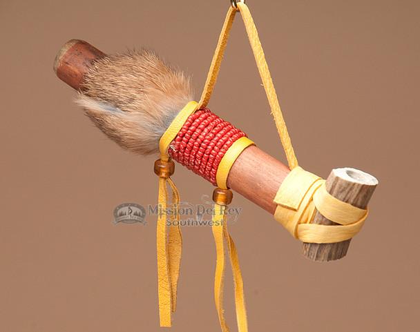Cherokee Mini Beaded Antler Pipe
