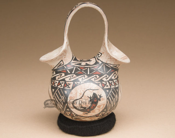 Manuel Mora Mata Ortiz Wedding Vase
