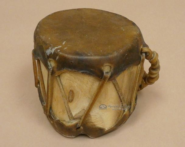 """Native Aspen Log Cochiti Drum 5"""" (pd25)"""