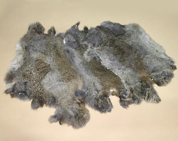 Genuine Rabbit Fur - Set of Three