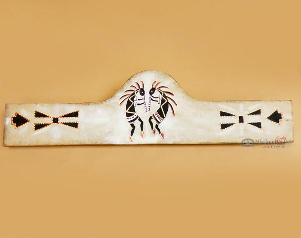 Hand Painted Wooden Rug Hanger 30 Quot Kokopelli Rh44