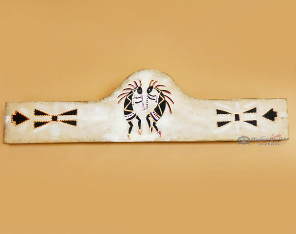 Hand Painted Rug Hanger - Kokopelli