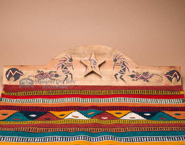 "Southwestern Rug Hanger 30"" -Native Fetish (rh50)"