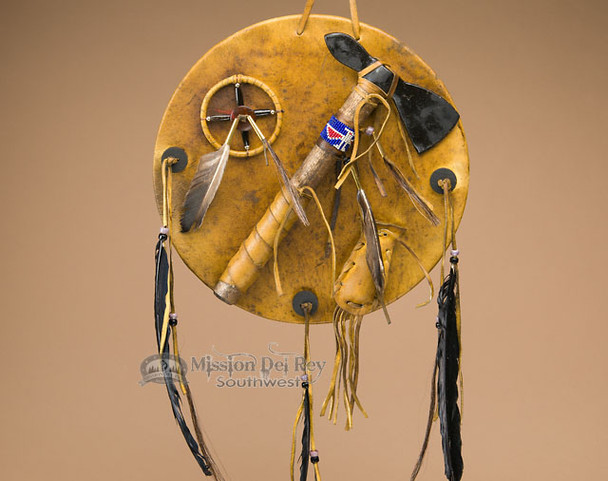 Old style Native American tomahawk shield.