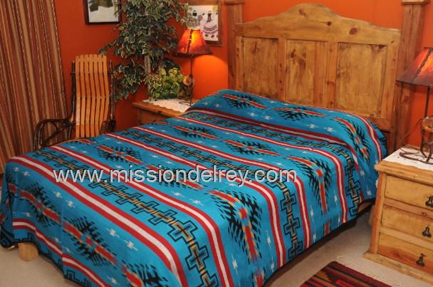 Southwestern Maricopa Bedspread