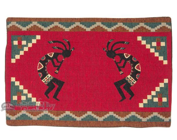 Southwestern Style Placemat - Red Kokopelli