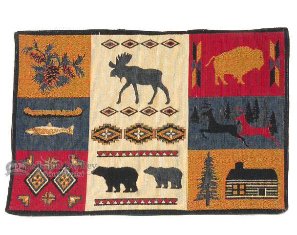 Lodge Style Tapestry Placemat