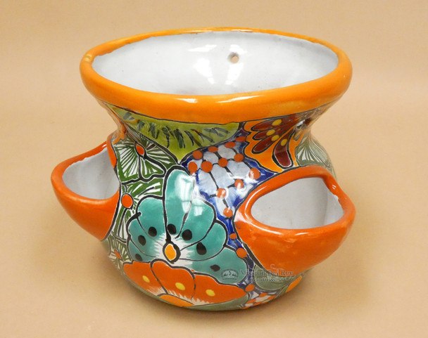 Talavera Hand Painted Planter Pot
