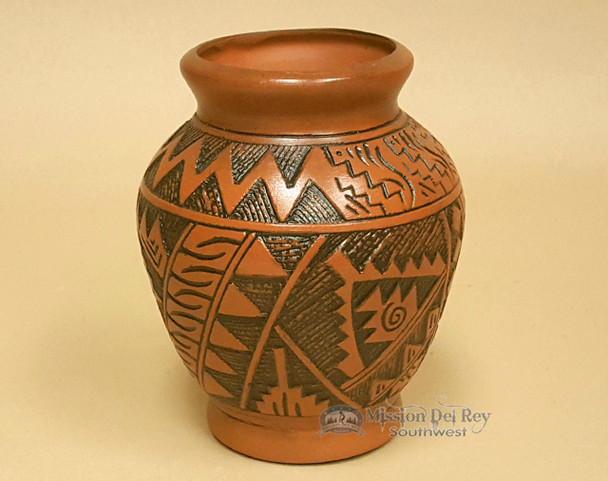 Handcrafted Navajo Pottery Vase