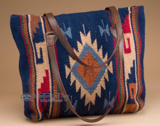 "Southwestern Wool Purse 18""x16"""