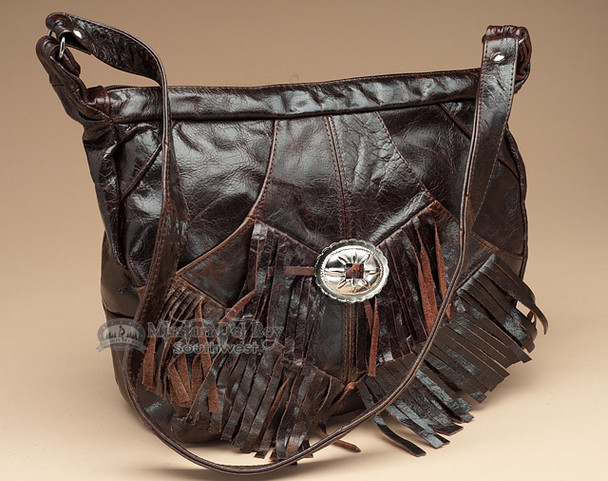 Rustic Western Leather Purse.