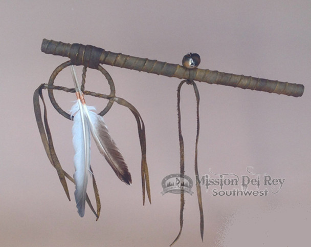 """Native American Talking Stick 12"""" -Tigua"""