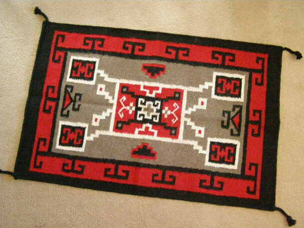 Western Wool Tapestry Rug 24x36 -Storm (2436832)