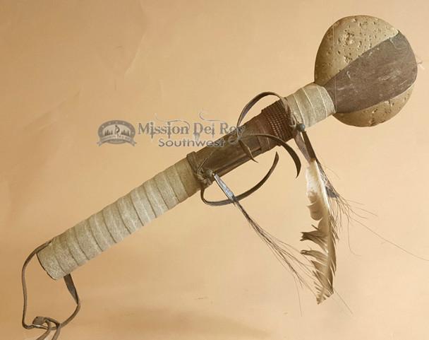 Navajo Indian Beaded Stone Tomahawk