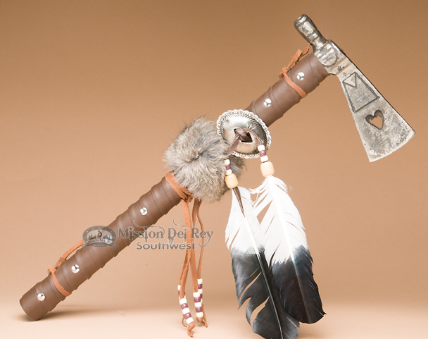 Metal head Tarahumara Indian tomahawk.