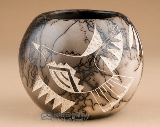 Native American Horsehair Vase