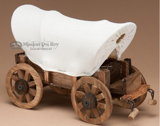 Western Covered Wagon Accent