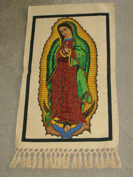 Guadalupe Wall Hanging 14x28