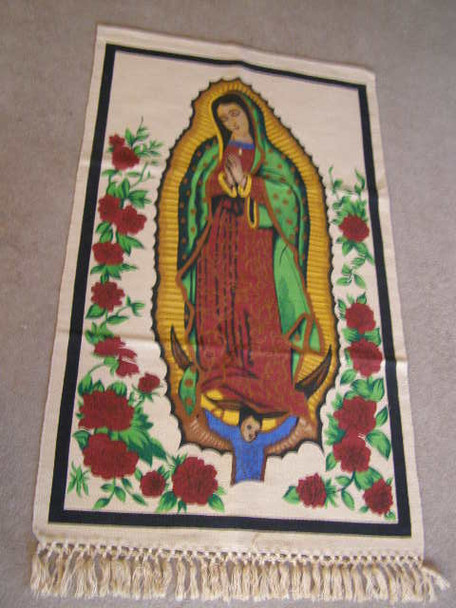 Large Guadalupe Wall Hanging 29x52