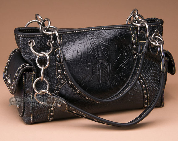 Black Southwest Style Purse