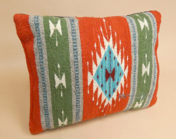 Woven Southwest Style Zapotec Indian Pillow