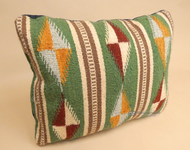 Hand Woven Zapotec Wool Pillow